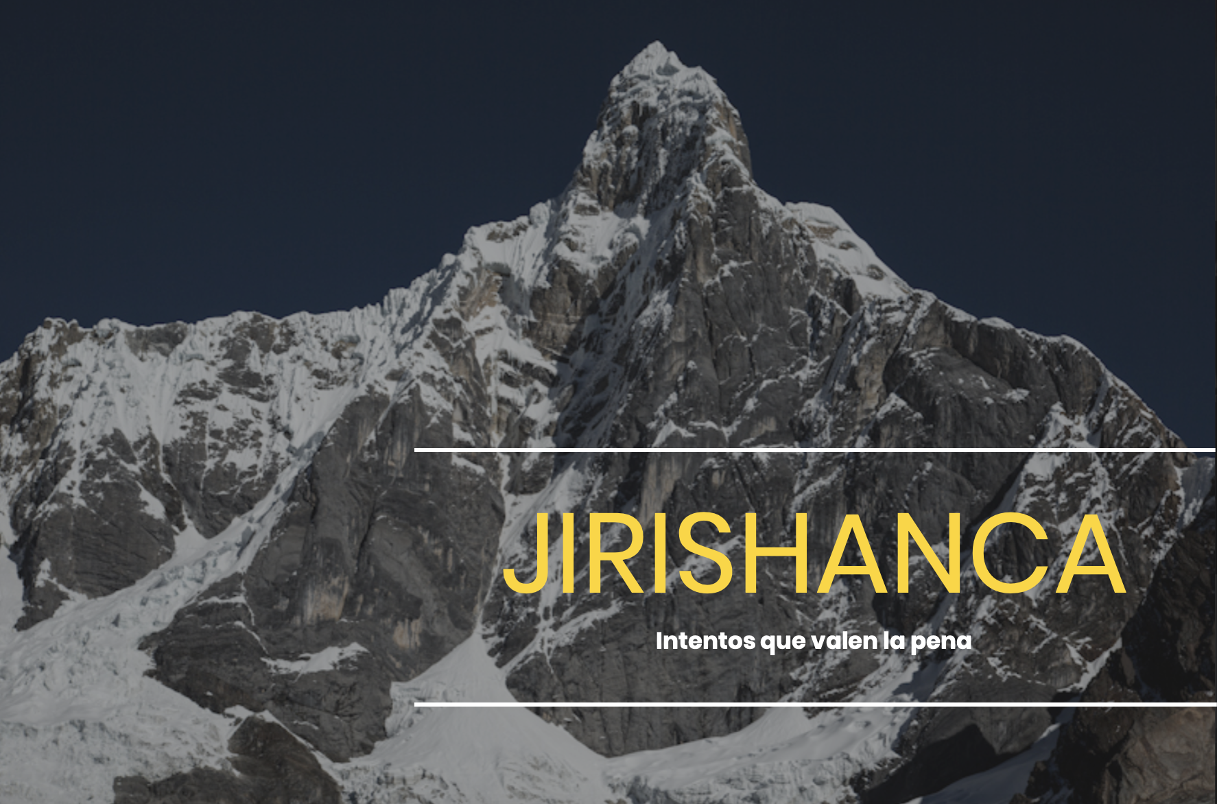 Jirishanca, intentos que valen la pena
